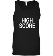 HIGH SCORE Tank Top Arcade Gamer Deluxe Pinball Champion Tee - $23.99+