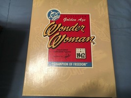 """Hallmark Golden Age Wonder Woman Figurine DC 1996 – """"Champion Of Freedom""""  - $51.43"""
