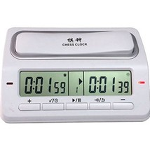 Digital Chess Clock Electronic 39 Timing Mode Tournament Equipment Plast... - $61.70