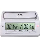 Digital Chess Clock Electronic 39 Timing Mode Tournament Equipment Plast... - $61.72