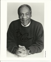 BILL COSBY AUTOGRAPHED 8 X 10 BLACK & WHITE PHOTOGRAPH - $31.72