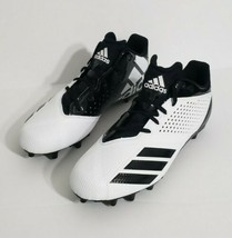 NEW Adidas 5-Star Low Men's Football Cleats CG4323 White Black Size 12 - $70.13