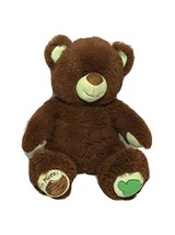 Build A Bear Thin Mints Girl Scout  Bear Brown And Green  Free Shipping - $16.83