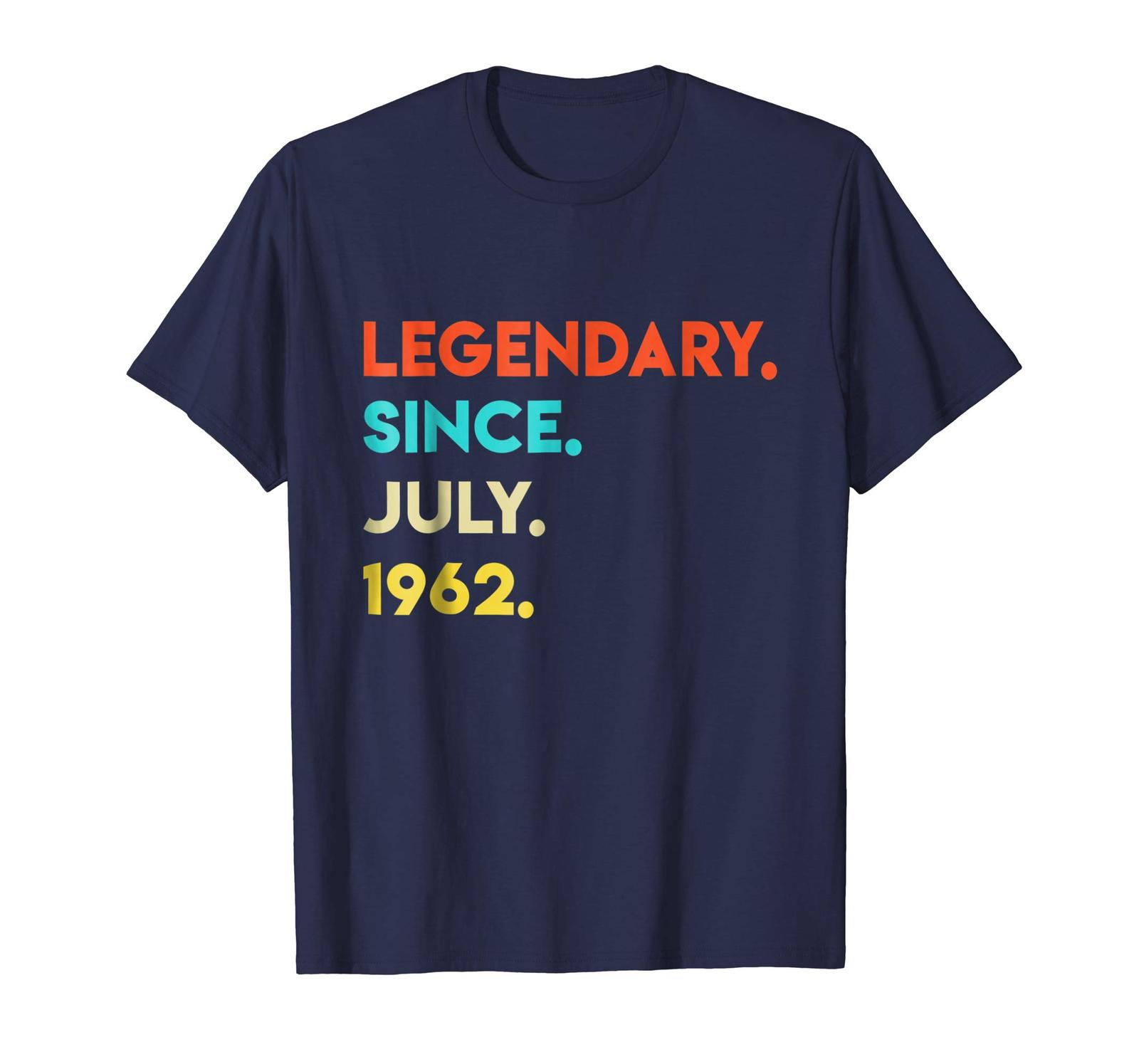 Primary image for Brother Shirts - Vintage Legendary Since July 1962 Shirt 56th Birthday Gifts Men