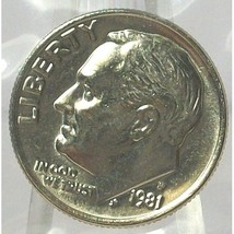 1981-P Roosevelt Dime MS65 F/B In the Cello #560 - $4.99