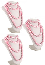 50s Retro Pop Beads Variety Fun Pack - 3 Bags of Pink Pop Beads - Hey Viv - $12.99