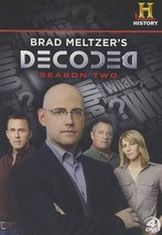 Brad Meltzer's Decoded Complete Second Season 2 Two Series TV Show DVD S... - $33.65