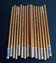 Lot Vtg  17 Prismacolor Sanford PC950 Metallic Gold Colored Pencils - $22.72
