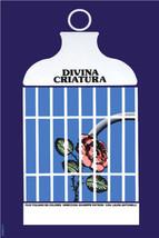 Cuban poster.DIVINA CRIATURA.Caged Rose.Divine.Decor.Home interior wall ... - $11.30+