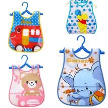 Colorful Baby Bibs Waterproof Feeding Tools Kids Eating Stuff Cute Carto... - $1.97+