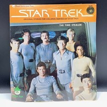 Star Trek vintage 1979 book record set factory sealed Peter Pan Time Ste... - $34.65