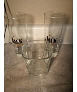 (3)  JACK DANIEL'S GLASSES--JACK & GINGER / TUMBLER / COCKTAIL--FREE SHI... - $28.07