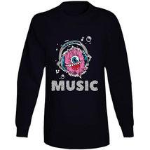Monster Music Head Phones Long Sleeve T Shirt image 4