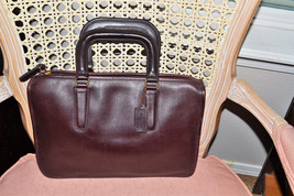 Vintage~ COACH ~Coach Briefcase~Made in New York City~Business Bag~Table... - $140.00