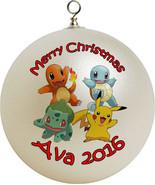 Personalized  Pokemon Christmas  Ornament #15 - $16.95