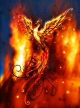 Out of the Ashes Rising Phoenix Enchanted Spell - $30.00