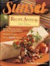 SUNSET Recipe Annual 1997 Edition [Hardcover] [Jan 01, 1996] Editors of SUNSE... - $5.88