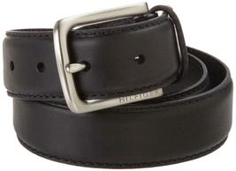 Tommy Hilfiger Men's Premium 35MM Leather Casual Belt Black 11TL02X038 image 3