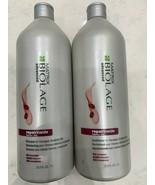 Matrix Biolage Repairinside Shampoo & Conditioner 33.8oz LITER DUO!  - $37.95