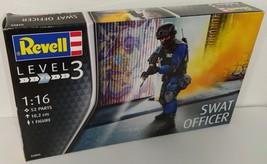 Revell 1/16 SWAT Officer Plastic Model Kit - $18.00