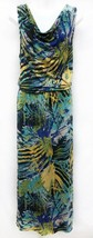 Calvin Klein Jeans Sz M Blouson Maxi Viscose Safari Womens Sleeveless Dress - $18.05