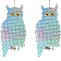 Bird Blinder Reflective Hanging Owl - Pest Repellent Control (2 Pack) - $18.43