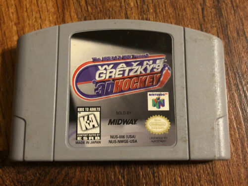 Primary image for Wayne Gretzky's 3D Hockey N64 (Nintendo 64, 1996) Tested and Working
