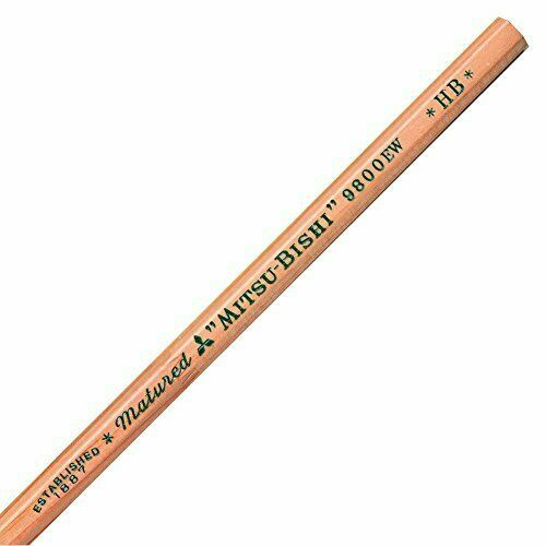 K9800EWHB Mitsubishi recycled pencil 9800EW HB 12 pieces