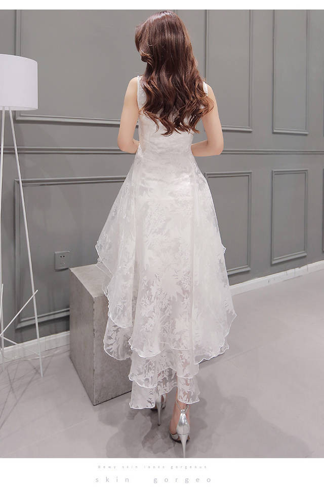 High low party Dress  at Bling Brides Bouquet online bridal store image 3