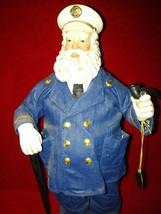 Clothtique Possible Dreams 1999 Holiday Hero #713198 NPFD Captain in Uni... - $34.99