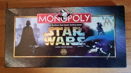 MONOPOLY STAR WARS CLASSIC TRILOGY EDITION GAME 1997 PARKER BROTHERS #40... - $35.00