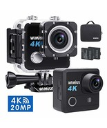 Sports Action Camera Waterproof DV 4K 20MP HD WiFi Underwater Camcorder ... - $55.64