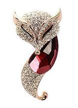 Fox Brooch Female Fashion Jewelry Brooch Female Accessories Pins Personality