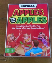Apples To apples Express Card Game By Mattel NEW T-621 - $7.70