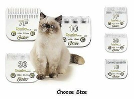 Oster Lucky No. 9 Cat Grooming Blades Fits Most Wahl Andis Clippers Choose Size - $49.89