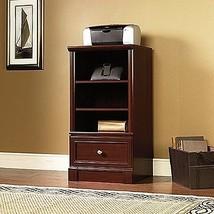 Sauder Palladia Technology Pier Standing Cabinet Select Cherry Finish - $181.90