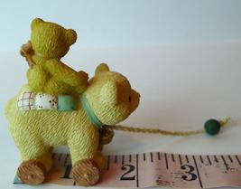 Pull Toy Bear Little Friend Priscilla Hillman Enesco figural 1999 image 4