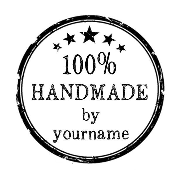 custom name 100% handmade by personalized business pre ink self inking stamp