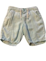 Girls Size Large 10-12 Old Navy Solid Light Turquoise Blue Summer Shorts... - $12.00