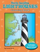 North Carolina Lighthouses Coloring Book (North Carolina Experience) [Paperback] image 2