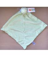 Angel Dear Lovey Security Blanket Green Frog Soft Nunu Stitched Face NWT... - $11.99