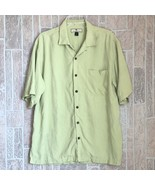 Tommy Bahama Men's Shirt Size M Button Down Loose Fit Beach Camp 100 Sil... - $23.15
