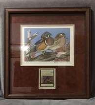1981-82 Tennessee Duck Stamp Signed Print W/ Stamp by Bob Gillespie - Lt... - $250.00