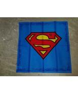 """Superman Bandana Large """"S"""" Pattern 100% Cotton 22 x 22 - $24.99"""