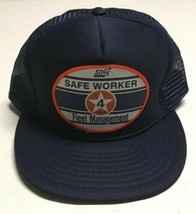 Vtg San Diego Gas Electric Fleet Trucker Hat SDGE Patch Cap Petroleum En... - $29.69