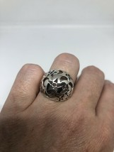 Vintage Moon Star Ring 925 Sterling Silver Size 7 - $67.32