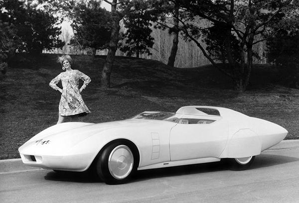 Primary image for 1968 Chevrolet Astro Vette Concept Car - Promotional Photo Poster