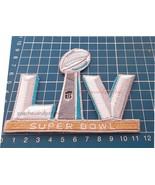 2021 SUPERBOWL LV 55 LOGO PATCH TAMPA BAY FLORIDA NFL FOOTBALL CHAMPIONS... - $12.99