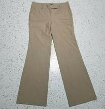 Women's Ann Taylor Dress Pants ~ Sz 10 ~ Light Brown ~ Boot Cut - $24.74
