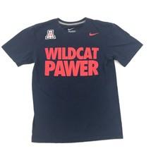 Nike Arizona Gatti Selvatici T-Shirt Taglia S Uomo Regular Blu Navy Manica Corta - $14.33